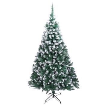 7FT Spray White PVC Christmas Tree 870 Branches