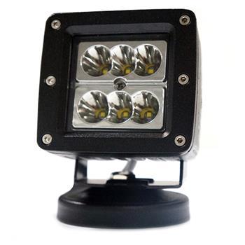 3 Inch 24W Flood LED Work Light Fog Lamp Offroad Driving SUV UTE Black
