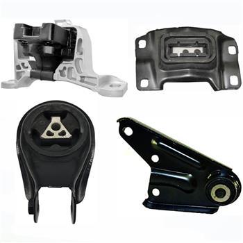 Engine Motor & Transmission Mount Set 4PCS. for 2004-2010 Mazda 3 2.0L for Auto.