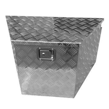 83(39)*49*46 Truck Bed Underbody Aluminum Tool Box with Keys 5 Tendon Pattern Aluminum Plate