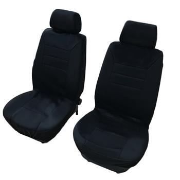 14pcs General Seasons 5 Seats Car Seat Covers Set Black