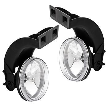Clear Lens Bumper Fog Lights Lamps For 1994-2001 Dodge Ram CH2593120 CH2592120