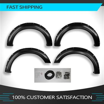 FENDER FLARES FOR 2004-2008 Ford F150  (ONLY Fit Styleside Models);