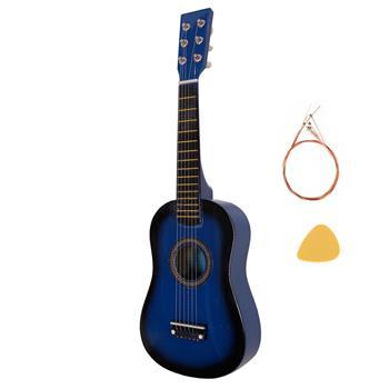 "23"" Acoustic Guitar Pick Strings Blue"