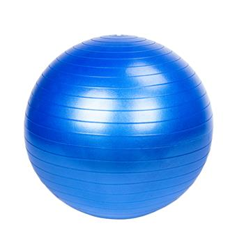 65cm 1050g Gym/Household Explosion-proof Thicken Yoga Ball Smooth Surface Blue