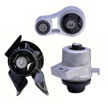 AUTO Engine Motor & Trans Mount Set Fits for 2007-2012 Mazda CX-7 2.3L/ 2.5L