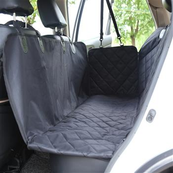 100% Waterproof Pet Seat Cover Car Seat Cover, Scratch Proof & Nonslip Backing & Hammock, Quilted, Padded,