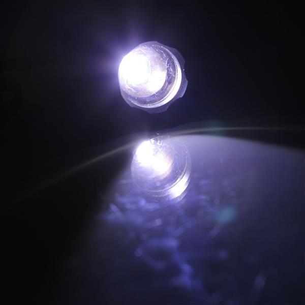 S2 LED 10W 1200 Lumens 500m Focusing White Strong Light Flashlight Black