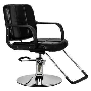 HC125 Woman Barber Chair Hairdressing Chair Black