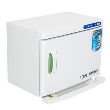 UV & Heating 23L Towel Tool Sterilizer Warmer Cabinet Spa Facial Disinfection Salon Beauty