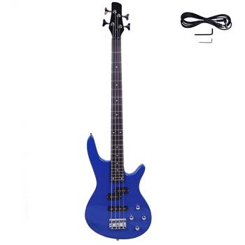 Exquisite Stylish IB Bass with Power Line and Wrench Tool Blue
