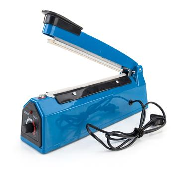 "8"" 300W Plastic Heat Sealer Sealing Machine US Standard Blue"