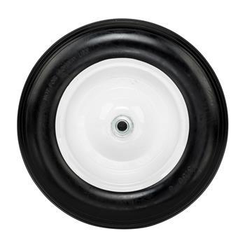 "14.2"" Tool Car PU Solid Foaming Wheel Black"
