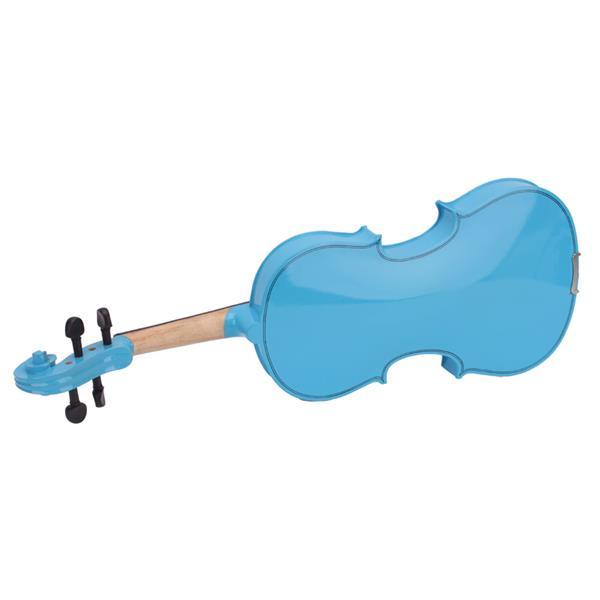 4/4 Acoustic Violin   Case   Bow   Rosin Sky Blue