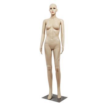 XSL6 Female Straight Hand Bent Foot body model Mannequin Skin Color