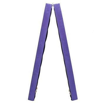7 Feet Young Gymnasts Cheerleaders Training Folding Balance Beam Purple