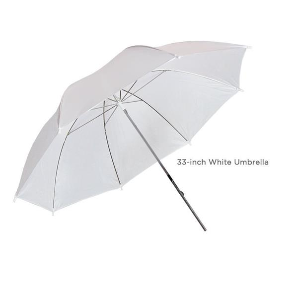 """Kshioe 33"""" Studio Flash Soft Umbrella White(Do Not Sell on Amazon)"""