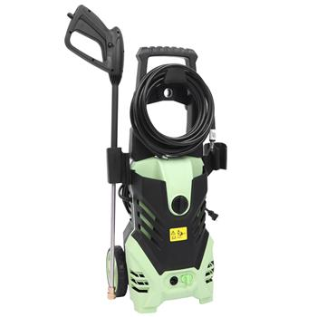 1800W 3000PSI 1.7GPM Electric High Pressure Washer Cleaner Machine Green(Do not sell on Amazon)