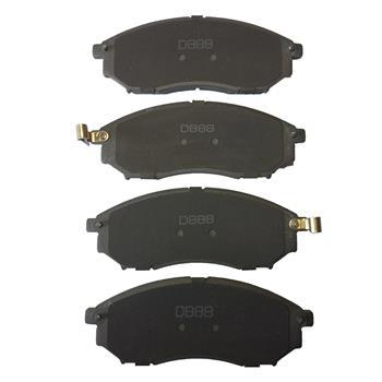 1 Set /4 Front D888-8221 Ceramic Brake Pads
