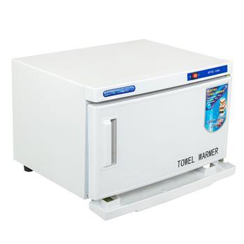 UV & Heating 16L Towel Tool Sterilizer Warmer Cabinet Spa Facial Disinfection Salon Beauty