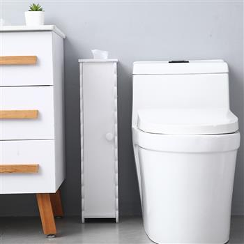 Paper Towel Storage Narrow Cabinet 67.5cm High Pvc (16.5x19.5x67.5)cm