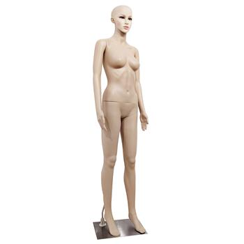 XSL5 Female Straight Hand Straight Foot Body Model Mannequin Skin Color