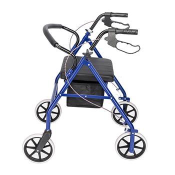 Iron Walker with Wheels Black & Blue