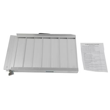 2ft Two-section Wheelchair Ramps Silver