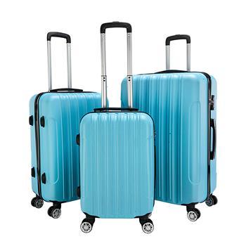 3-in-1 Multifunctional Large Capacity Traveling Storage Suitcase Blue