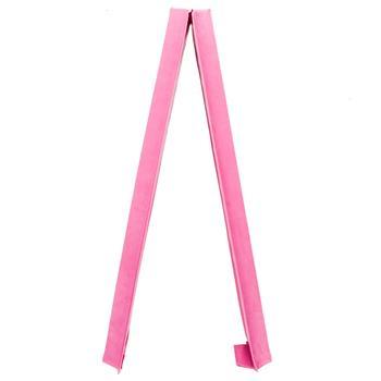 8 Feet Young Gymnasts Cheerleaders Training Folding Balance Beam Pink Plain Flannelette & Pink PVC