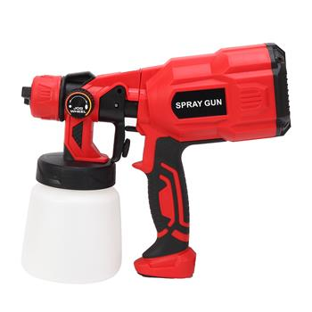 550W Portable Electric Small Spray Gun Red Black