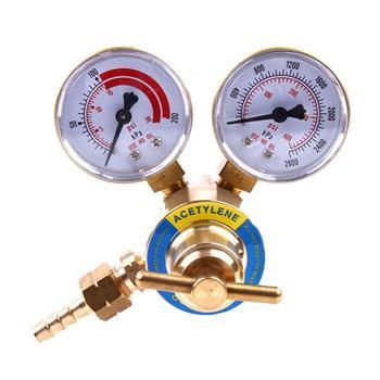 2-5/8 Inch Professional Acetylene Pressor Golden & Red & White