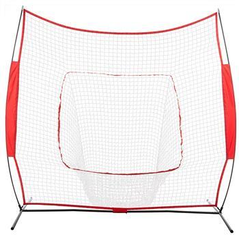 Baseball Train Net Rack Rebound Goal Red Sleevelet