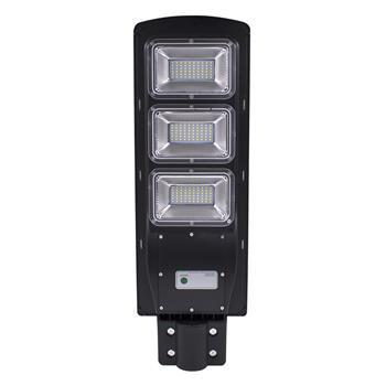 90W 180-LED 2835SMD Solar Sensor Outdoor Light with Light Control and Radar Sensor Black