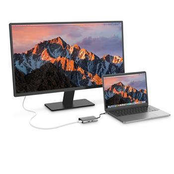 Ban on Amazon platform sales LENTION C58EHCR 7-In-1 USB-C Hub, with USB 3.0 Port, HDMI, Card Reader, RJ45, PD, 3.5mm Audio Jack, Port Adapter (Dark Gray)