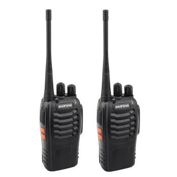 BF-888S 2800mAh Ultra-long Standby Walkie-talkie EU Standard Black(Do Not Sell on Amazon.com)