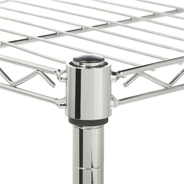 5-Layer Chrome Plated Iron Shelf 180*90*35 Chrome