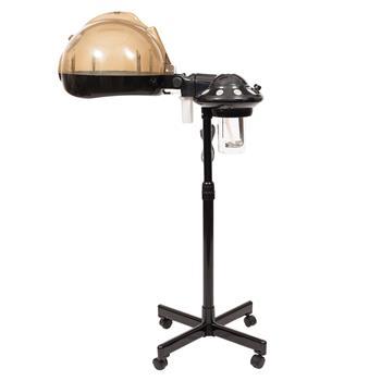 Stand Professional Hair Treatment Steamer Machine Black