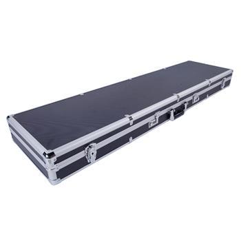 135*35*12cm Aluminum New Framed Locking Gun Pistol HandGun Lock Box Hard Storage Carry Case Black