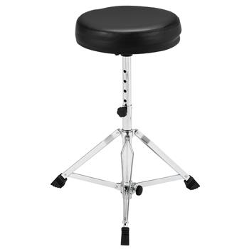 [Do Not Sell on Amazon]Glarry 5 Height Adjustable and Lifting Drum Stool Black