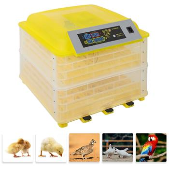 2 in1 96-Egg Incubator Chicken Duck Bird Auto-Turning Digital Control