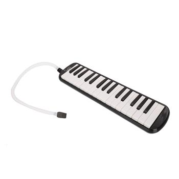 [Do Not Sell on Amazon]Glarry 32-Key Melodica with Mouthpiece & Hose & Bag Black