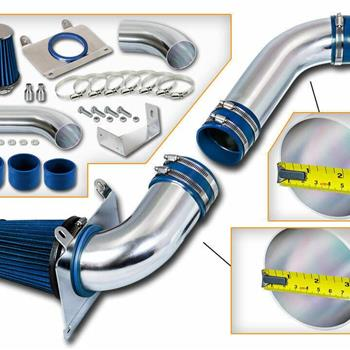 Cold Air Intake System for 1989-1993 Ford Mustang LX/GT 5.0L V8 Blue