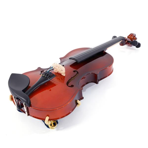 [Do Not Sell on Amazon]Glarry  GV100 3/4 Acoustic Violin Case Bow Rosin Strings Tuner Shoulder Rest Natural