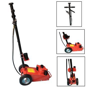 22 Ton Auto Shop Garage Mechanics Repair Lift Air Hydraulic Floor Jack Tool Red