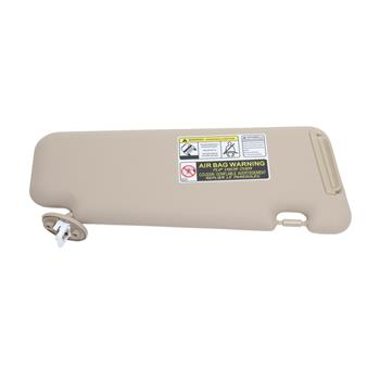 Visor Front Left Cable With Light For Toyota 2008-2013 Beige