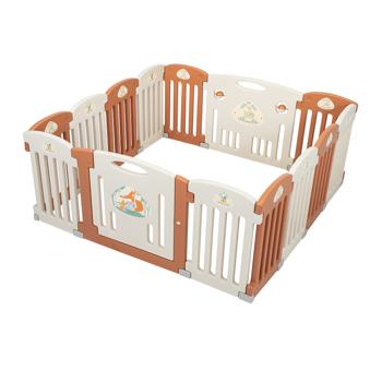 Sukko 14 Panel Baby Playpen Safety Play Yard Home Indoor Outdoor