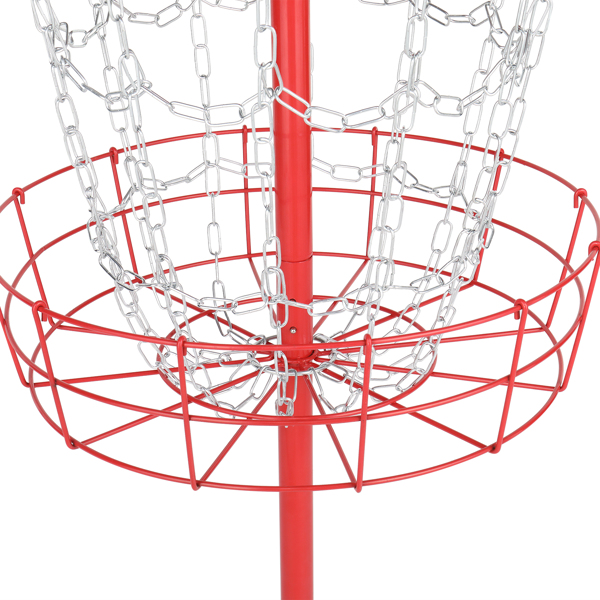 132*63.5*63.5cm Frisbee Holder Red