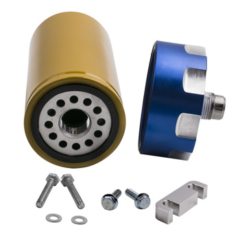 Fuel Filter Adapter Kit For Chevy GM Duramax Chevrolet 6.6L 2001-2016