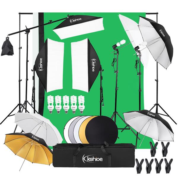 Kshioe PK002 Soft Light Box Soft Umbrella Plus Five-In-One Reflector Set